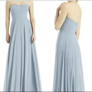 Dessy Strapless Bridesmaid Dress